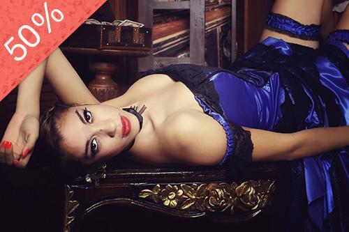 Sesión Fotográfica al Estilo Moulin Rouge