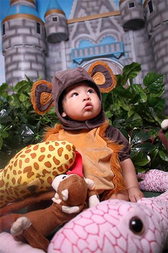 Sesión Fotográfica Mágica para Niños y Bebes al Estilo Safari